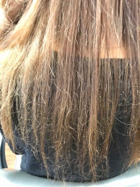 縮毛矯正で傷んだ髪