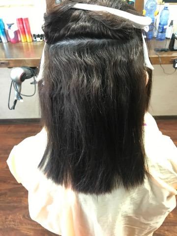 伊丹の美容室ヘアーファクトリーレアポエの縮毛矯正